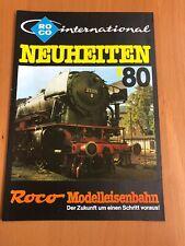 Roco Katalog Modellbahn Neuheiten 1980 80 BR 23 160 103 Straßenbahn Güterwagen