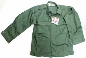PROPPER BDU Coat Shirt Med/Long Military Specs 2 Pocket Poly/Cotton Green NEW