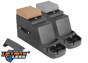 Rugged Ridge 13104.09 Textured Gray Locking Console for 76-95 Jeep CJ-5/CJ-8/YJ