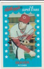 1982 Kellogg's 3-D Super Stars Tom Seaver #8 Cincinnati Reds