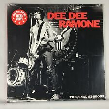 """Dee Dee Ramone – The Final Sessions - New Sealed Colored Vinyl 12"""" Single"""