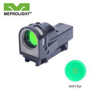 Meprolight M21 Self Powered Day / Night Illuminated Reflex Sight -M21 Bull's Eye