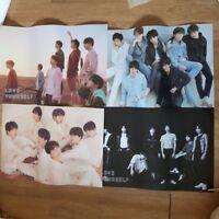 """K-POP BTS Album """"LOVE YOURSELF 'TEAR'"""" Official BTS 4 Poster SET On TUBE"""