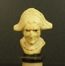 Polichinelle de Commedia dell'arte Sculpture XIXe caricature Napoléon Bonaparte