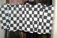 "Checkered Flag Valence, Misprint 42""  Wide 18"" Long, Made in the USA"