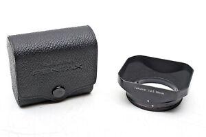 Pentax Takumar 28mm f3.5+ 28/3.5 Wide lens shade 49mm Slip-on Metal Hood++BEAUTY
