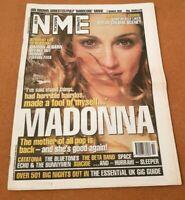 NME Magazine 7 MARCH 1998 OCEAN COLOUR SCENE / MADONNA / ECHO & THE BUNNYMEN