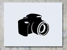 Cámara foto fotografía Calcomanía Adhesivo Pared Arte Imagen