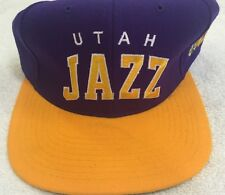 Vintage 90's Snapback Utah Jazz Hat!!! Brand New with Original Tags!!!! RARE