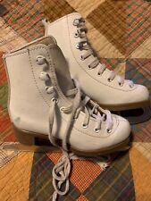 Small Girls Glacier 120 Figure Skates ~ Youth Size 10