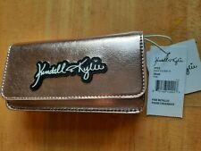 Kendall & Kylie Pink Metallic Phone Crossbody Bag