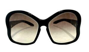 PRADA BLACK BUTTERFLY FRAME SUNGLASSES, $445