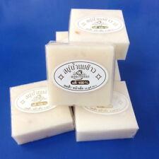 Lot 6 Rice Milk Soap Whitening 100% Herbal Skin Care Acne Face Body Bath