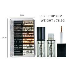 6Pcs/Set Professional Shiny Glitter Women Liquid Eyeliners Makeup Eye O7N0