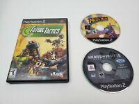 PlayStation 2 game Bundle Lot of 3 Sony PS2 Future Tactics MegaMan Soldier of Fo