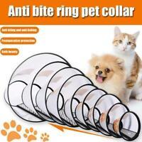 Elizabethan Dog Collar Cone Total Pet Health Wound Portable H2E1