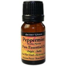 PEPPERMINT Essential Oil 10ml Therapeutic Grade Undiluted 100% Pure Natural Oils