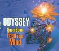 Odyssey Boom boom free your mind (1996) [Maxi-CD]