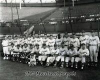 1946 Jackie Robinson AAA Montreal Royals Team Picture 8 X 10 Photo Free Ship