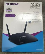 NETGEAR WiFi Router R6230 AC1200 Dual Band Wireless Black Pre Owned Retail Box