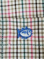 Southern Tide Plaid Shirt Large L Multicolor - RECENT