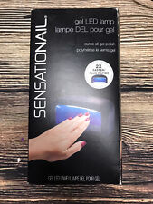 Sensationail Pro 3060 Led Lamp Ac Adapter Included Nails Dryer Cures Polish Nail