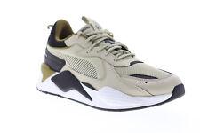 Puma Rs-X Core 36966606 мужские бежевые сетка на шнуровке низкие кроссовки обувь