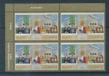 [328697] Aland 2015 good block of 4 stamps very fine MNH