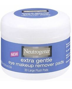 Neutrogena Extra Gentle Eye Makeup Remover Pads 30 Large Plush Pads