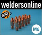 UNI-MIG M6 Welding Contact Tips (Multiple Qualities & Sizes) PCT0009 unimig