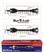 For Mercedes 300CE 300D 300E C230 C280 Pair of Rear CV Axle Shafts SurTrack Set