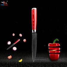 "Knife 5"" Inch Chef Filleting Damascus Fruit Frozen Utility Peel Sharp Blade Fish"