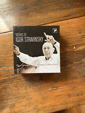 Works Of Igor Stravinsky 22 CD Set.