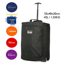 Maleta y segundo bolso equipaje de mano medidas Ryanair 55x40x20cm & 35x20x20cm