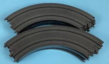 "LOT OF 10 Tyco Slot Car Curve track B5831 9"" 1/4 Radius Circle HO Scale Vintage"