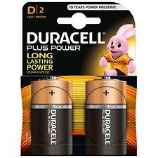 Pila Duracell alcalina LR 20 2 PZ