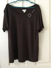 Womens Brown Size L Top