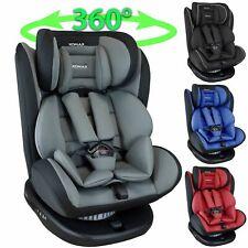 Isofix Auto Kindersitz 0-36kg Gruppe 0+1+2+3 ECE Autositz 360° drehbar XOMAX 916