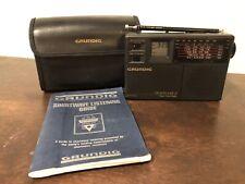 Grundig Traveller II / 2 Radio Short Wave Vintage Audio 7-band FM/MW/SW Receiver