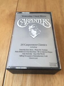 The Carpenters Yesterday Once More Double Cassette