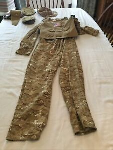 Navy Seal Special Forces Army Soldier  Military Boys Costume ~ Youth Large 12-14