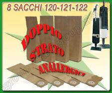 8 SACCHI SACCHETTI  CARTA ADATTABILE ASPIRAPOLVERE FOLLETTO VORWERK 120 121 122