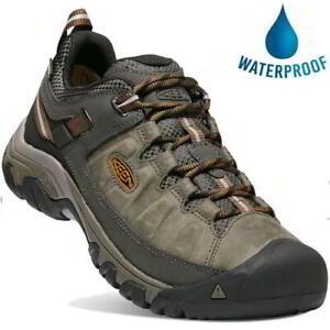 Keen Targhee III WP Mens Dark Brown Waterproof Walking Hiking Shoes Size 8-13
