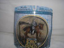 LOTR Armies of Middle Earth Gondorian cavalier avec fanion et bouclier.