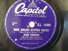"78 rpm 10"" STAN FREBERG rock around stephen foster"
