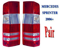 Mercedes Sprinter Rear Tail Light Lamp Lens Left Right Pair 2006 to 2018 N/S O/S