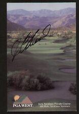 J.C. Snead signed autograph auto PGA West Scorecard