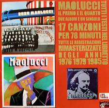 Enzo Maolucci - L'industria dell'obbligo / Tropico del toro CD