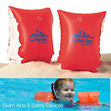 arm bands swim childs inflatable float aid pool instruction swimming teach