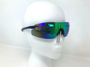 Performance Elite Leadout Anti-fog lens and no-slip nose grip eyewear Blue